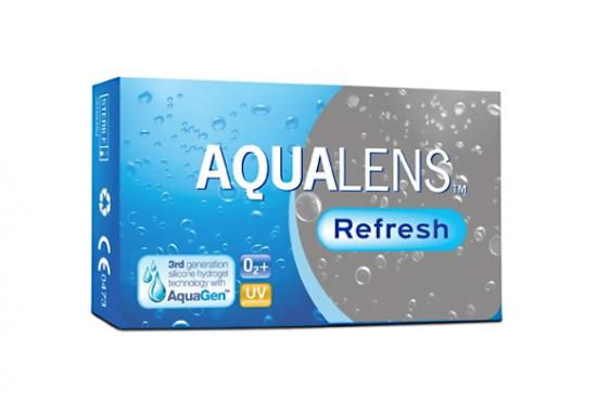 CONTACT LENSES AQUALENS REFRESH