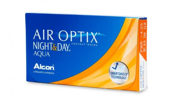 ΦΑΚΟΙ ΕΠΑΦΗΣ AIR OPTIX NIGHT - DAY AQUA