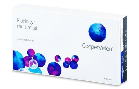 CONTACT LENSES BIOFINITY MULTIFOCAL 3 PACK