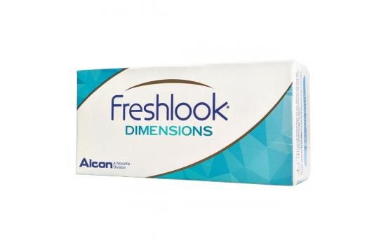 CONTACT LENSES FRESHLOOK DIMENSIONS 2 PACK