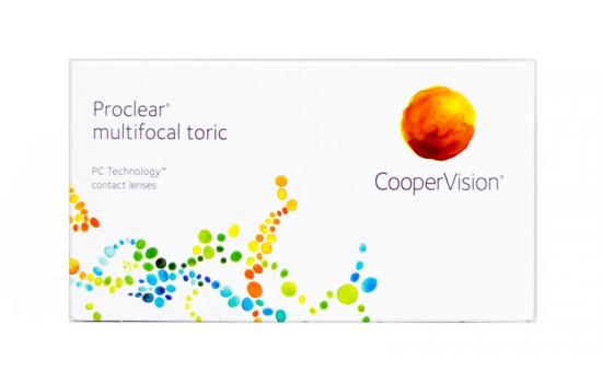 CONTACT LENSES PROCLEAR MULTIFOCAL TORIC 3 PACK
