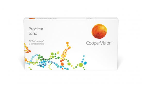 CONTACT LENSES PROCLEAR TORIC 3 PACK
