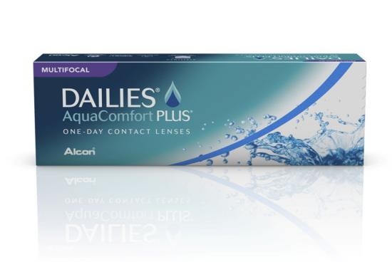 CONTACT LENSES DAILIES AQUACOMFORT PLUS MULTIFOCAL (30PACK)