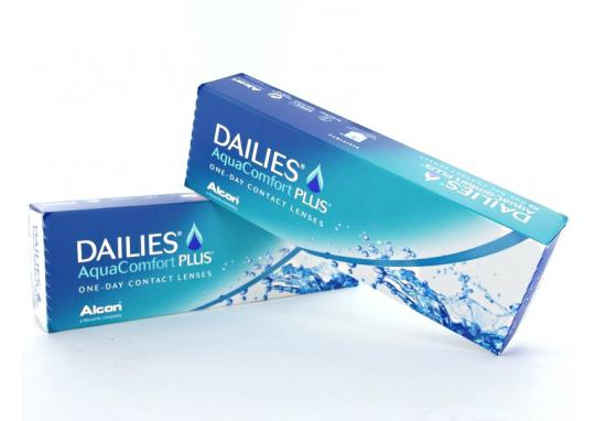 CONTACT LENSES FOCUS DAILIES AQUACOMFORT PLUS (30 LENSES)