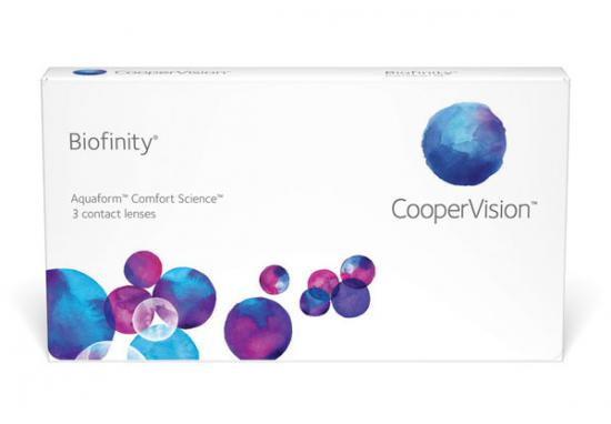 CONTACT LENSES BIOFINITY 3 PACK