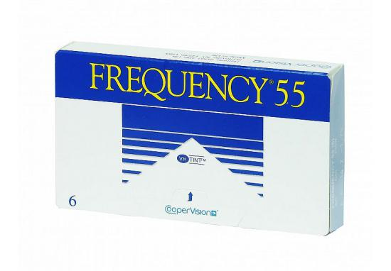 CONTACT LENSES FREQUENCY 55 6 PACK