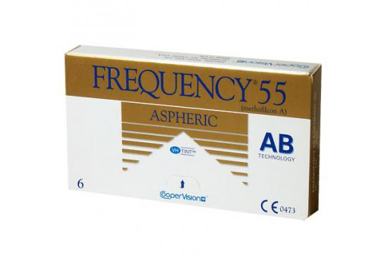 CONTACT LENSES FREQUENCY 55 ASPHERIC 3 PACK