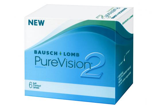 CONTACT LENSES PUREVISION 2 HD 6 PACK