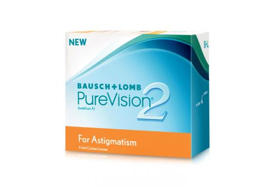 CONTACT LENSES PUREVISION 2 HD ASTIGMATISM 6 PACK