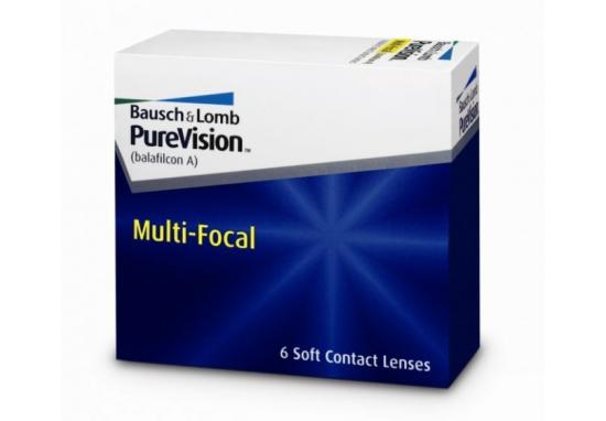 CONTACT LENSES PUREVISION MULTIFOCAL