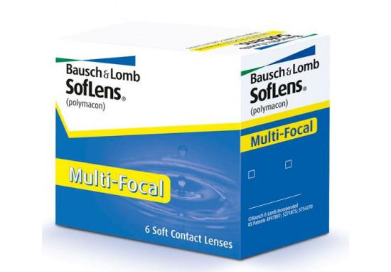 CONTACT LENSES SOFLENS MULTIFOCAL