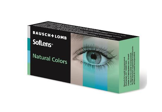 CONTACT LENSES SOFLENS NATURAL COLORS