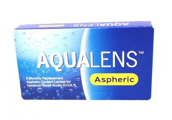CONTACT LENSES AQUALENS ASPHERIC
