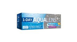 ΦΑΚΟΙ ΕΠΑΦΗΣ AQUALENS REFRESH ONE DAY MULTIFOCAL