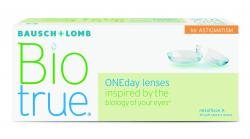 CONTACT LENSES BIOTRUE ONEDAY ASTIGMATISM (30 LENSES )